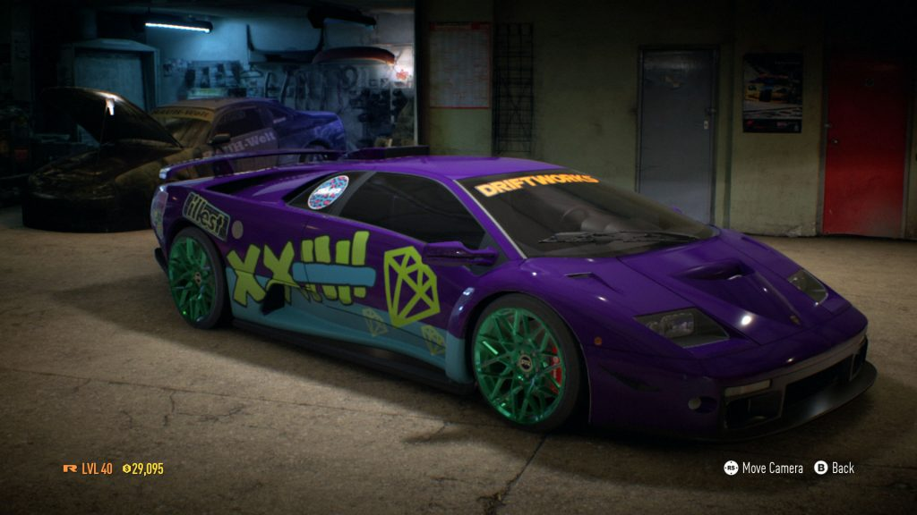 need for speed car