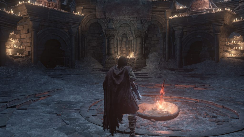 dark souls 3 bonfire