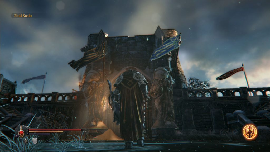 lords of the fallen environment